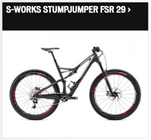S-Works Stumpjumper FSR 29 2016