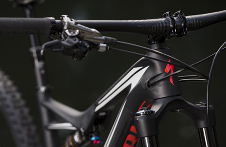 Specialized Stumpjumper FSR 2016 triangulo delantero