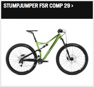 Specialized Stumpjumper FSR Comp 29 2016