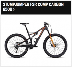 Specialized Stumpjumper FSR Comp Carbon 650B 2016