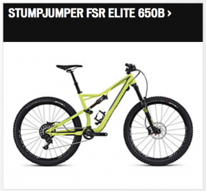 Specialized Stumpjumper FSR Elite 650B 2016