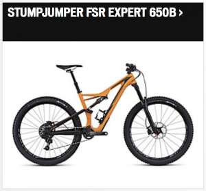 Specialized Stumpjumper FSR Expert 650B 2016